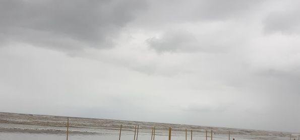 Ventos Fortes em Itanhaém SP.