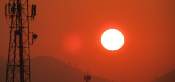 Nascer do sol em Realengo RJ