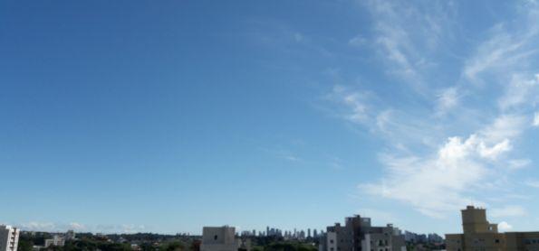 Céu limpo.