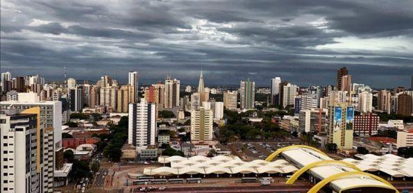 Ar frio entrando sobre o Paraná!