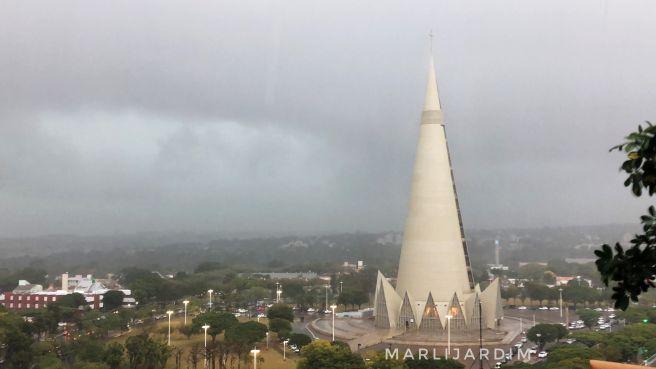 E a chuva Chegou Maringá ...