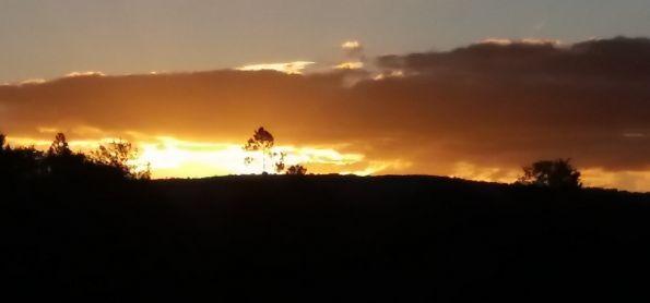 Um lindo Pôr do Sol em sincora da Serra- BA