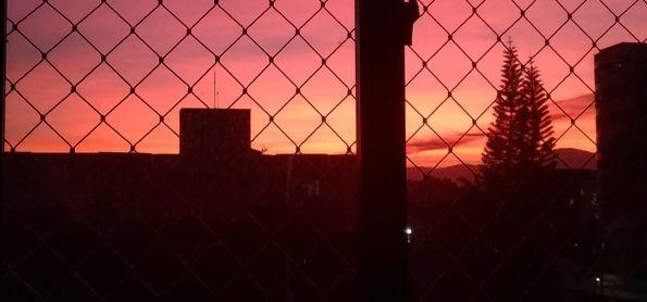 Por do sol em Joinville SC