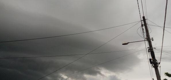 Tempestade de raios em Teresina