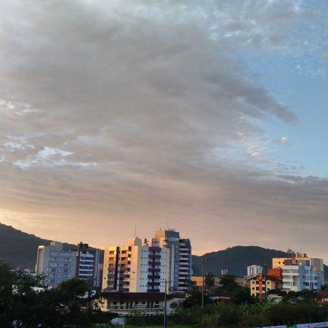 Vento forte em Santa Catarina
