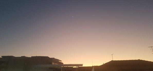 Antes do sol...