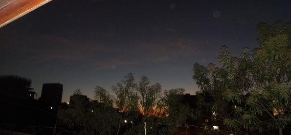 Lindo Por do Sol nesta Quarta-Feira de Inverno em Poços de Caldas, Sul de MG.