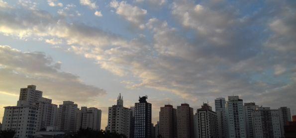 Tarde agradável em São Paulo!