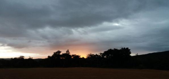 Pôr do Sol em Sincora da serra - BA
