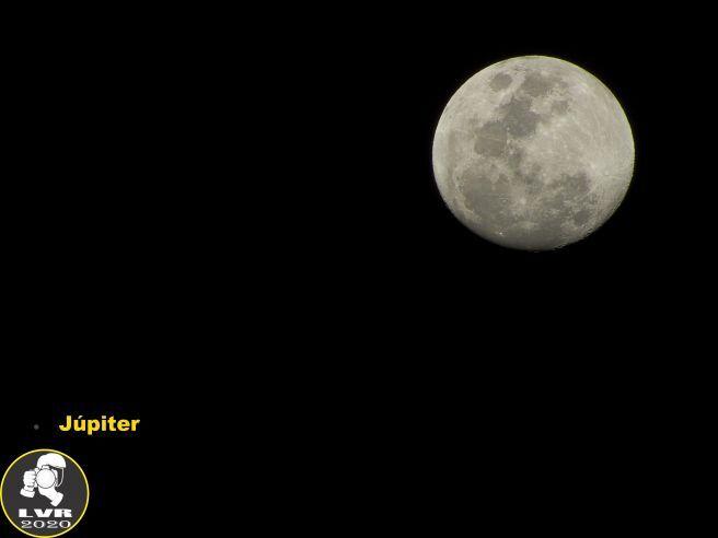 Lua e Júpiter 01/08/2020 - Rio de Janeiro
