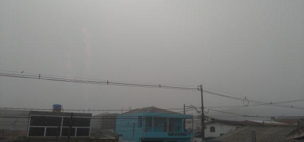 nevoeiro nesse exato momento na cidade de Curitiba parana nesta manha