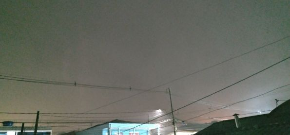Nevoeiro em Curitiba parana nesta noite