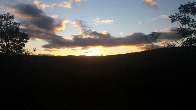 Pôr do Sol em Sincora serra - BA