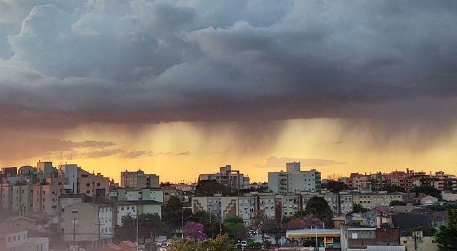 Céu ,sol em Pelotas