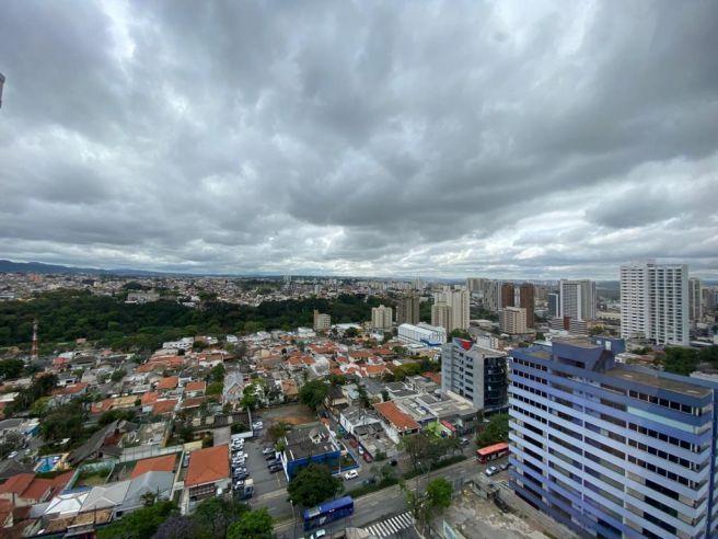 Clima nublado na cidade de Guarulhos