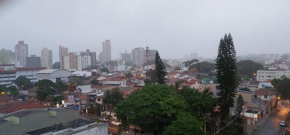 Garoa e frio em Santo André SP