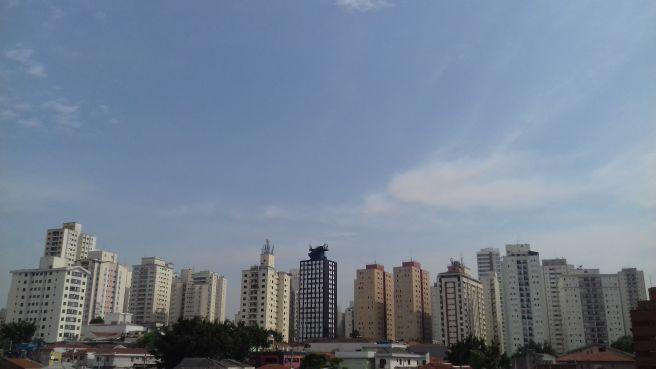 Manhã de Sol e de Calor em São Paulo!