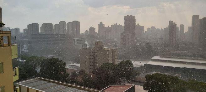 Forte chuva em Santo André SP