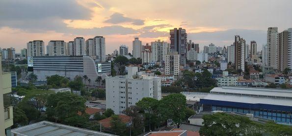 Pôr do sol em Santo André SP