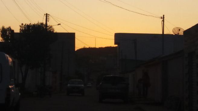 Pôr  do Sol em Barra da estiva  - BA
