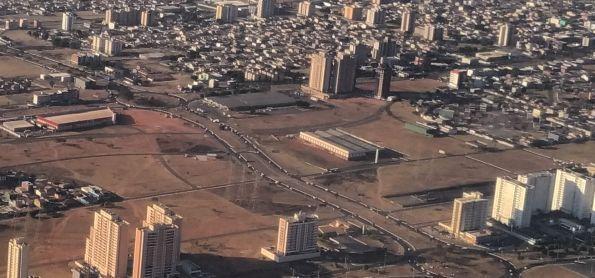 Ar seco predomina em Brasília DF