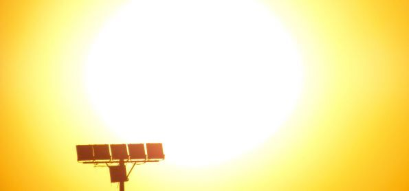 Tarde de calor em Curitiba