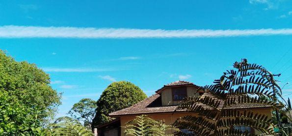 Bela nuvem em Itaiópolis-Santa Catarina-Brasil