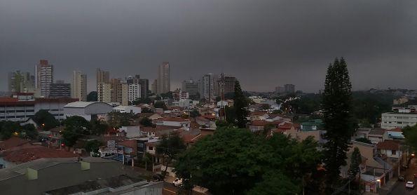 Dia virando noite em Santo André SP