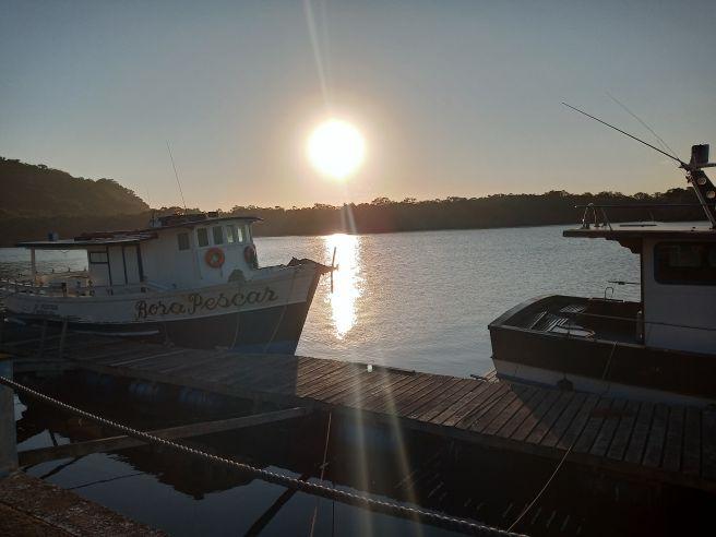 Por do sol agora 17:00 HS rio itanhaem