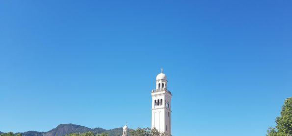 6ª feira azul. Torre da Igreja dos Capuchinhos
