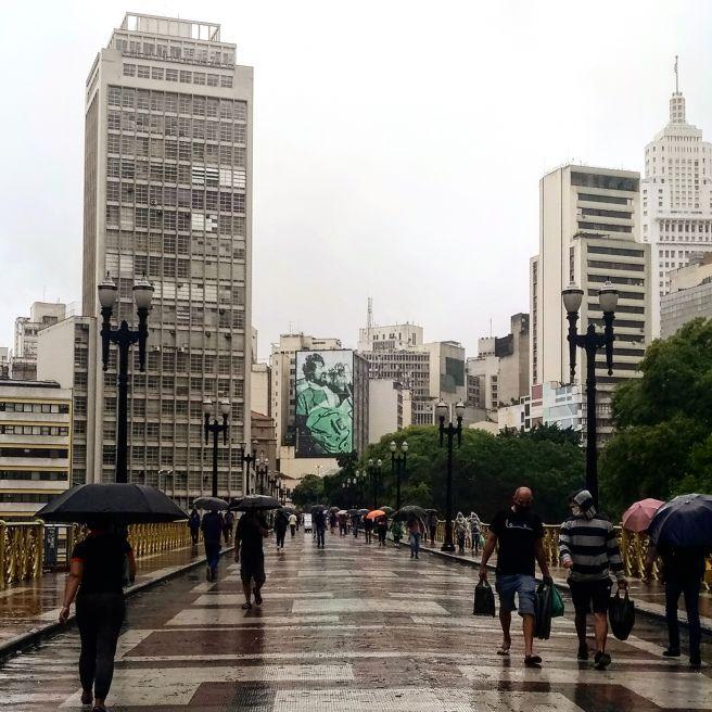 chuva em São paulo SP