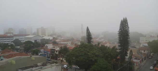 Neblina em Santo André SP