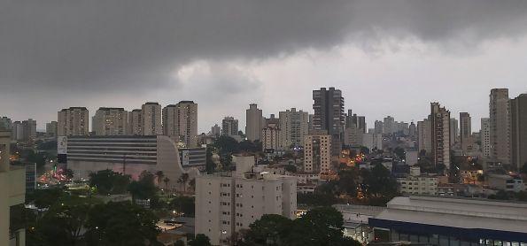 Chuva em Santo André SP