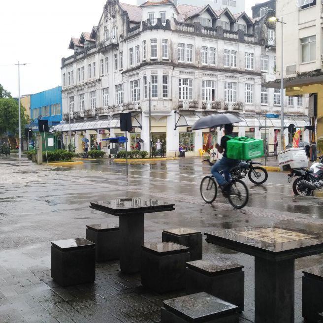 Chuva no Sul do brasil
