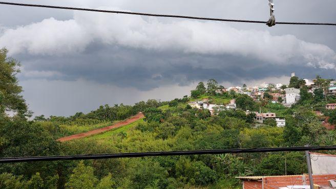 Tempestade em Mogi das Cruzes