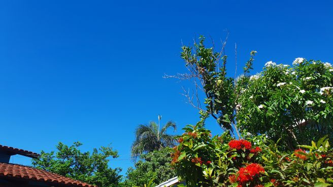 Céu com cara de inverno em Goiás