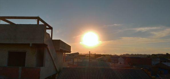 Por do sol na grande Curitiba nesta Qua,25/11/2020🌞
