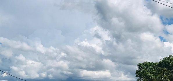 Nuvens carregadas