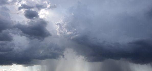 Chuva em forma de pancadas em Ivinhema MS.