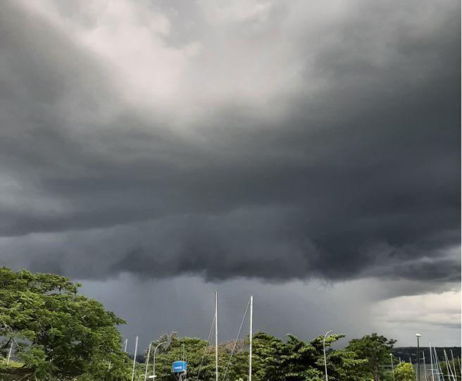 Mais uma tarde de temporais em Brasília