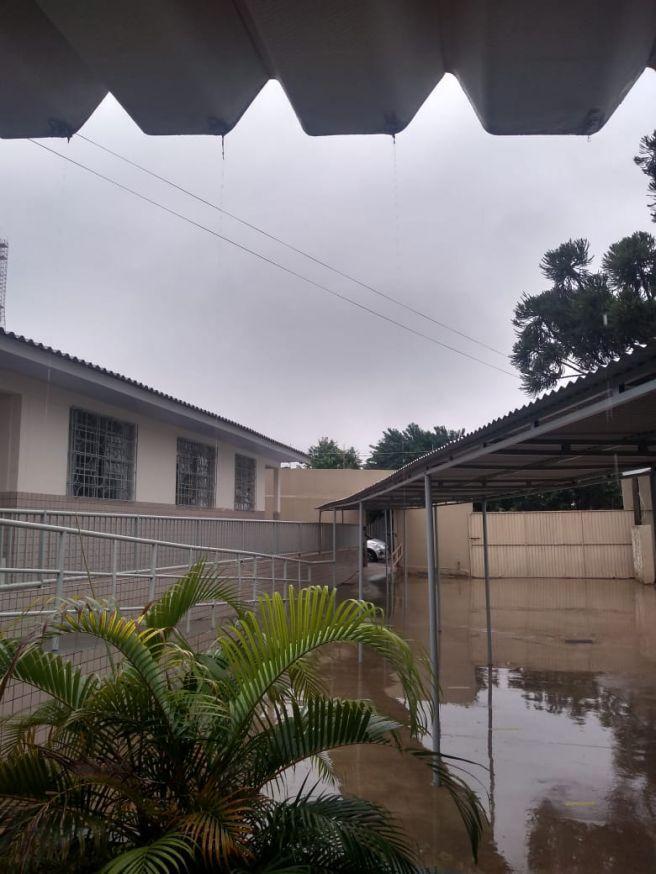 Chove em Goioerê -Paraná após 1 mês sem chuva.